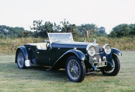 Alvis Speed 20 Vanden Plas 1932